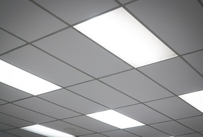Ceiling Tiles with Lights