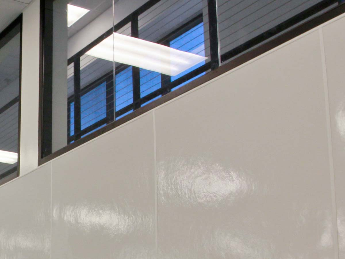 Reinforced Wall Panels : Fiberglass reinforced panels are stocked and ready for