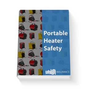 Portable safety heater guide