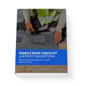 Shingle roof checklist